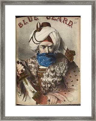 Blue Beard Framed Print by British Library