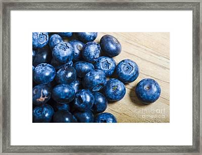 Blue Berries  Framed Print by Jorgo Photography - Wall Art Gallery