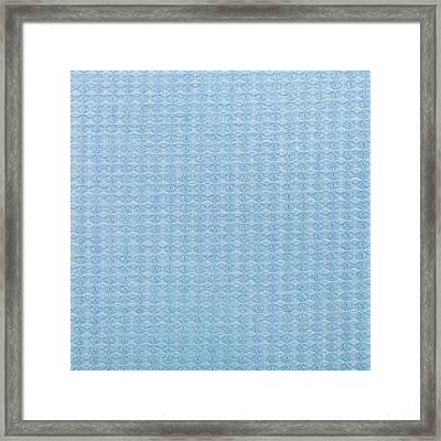 Blue Blanket Framed Print by Tom Gowanlock