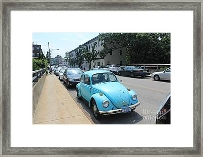 Blue Bug Framed Print by Lotus