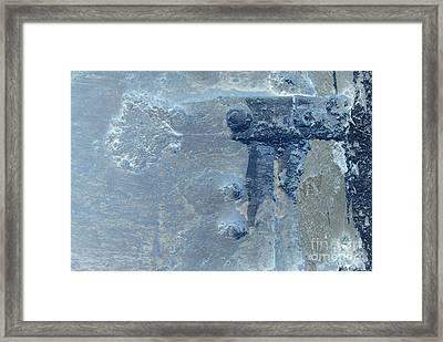 Blue Claw Three Framed Print by Heather Kirk