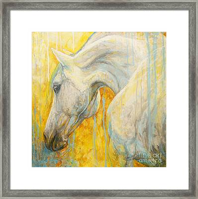 Blue Dreaming Framed Print by Silvana Gabudean