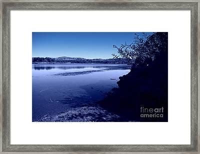 Blue Dusk Framed Print by Mickey Harkins