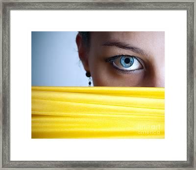 Blue Eye Framed Print by Jelena Jovanovic