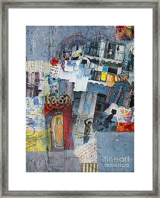 Blue Havana Framed Print by Elena Nosyreva