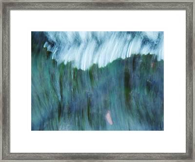 Blue Haze Framed Print by Todd Sherlock