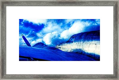 Blue Hudson Framed Print by motography aka Phil Clark