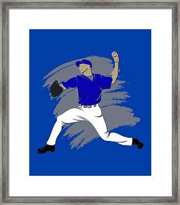 Blue Jays Shadow Player3 Framed Print by Joe Hamilton