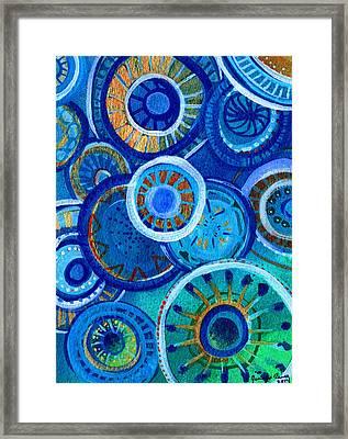 Blue Framed Print by Jennifer Pavia