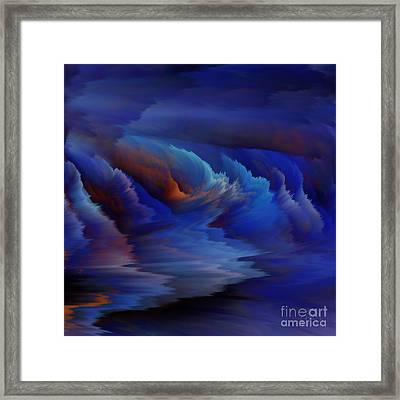 Blue Lagoon Framed Print by Patricia Kay