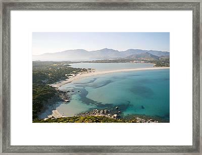 Blue Lagoon Framed Print by Renato Sensibile