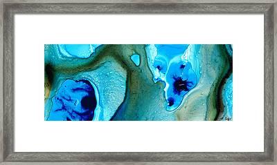 Blue Lagoon Framed Print by Sharon Cummings