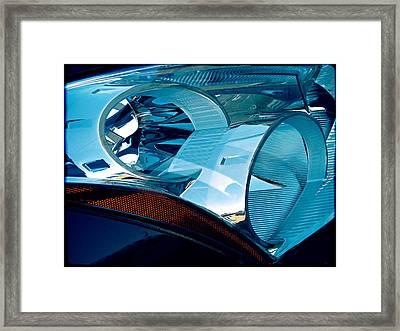 Blue Light Framed Print by Wendy J St Christopher