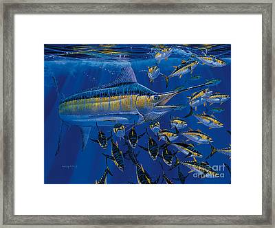 Blue Millennium Framed Print by Carey Chen