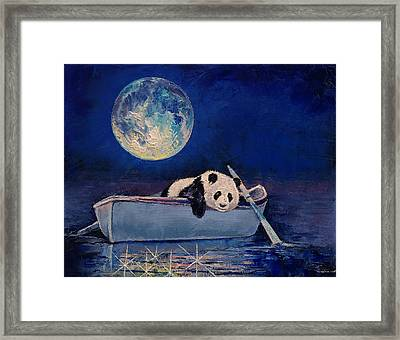 Blue Moon Framed Print by Michael Creese