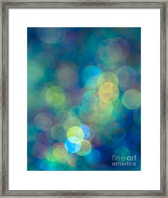 Blue Of The Night Framed Print by Jan Bickerton