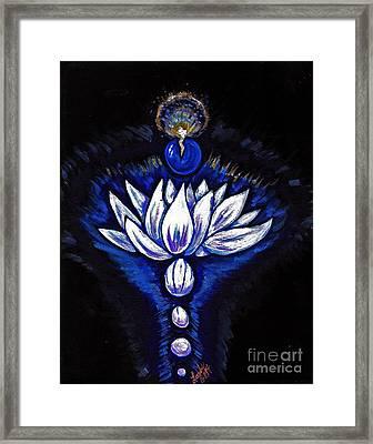 Blue Pearl Framed Print by Lorah Buchanan