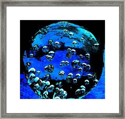 Blue Planet  Framed Print by Colette V Hera  Guggenheim