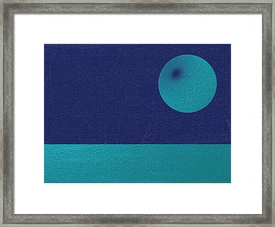 Blue Planet Framed Print by Eric Forster