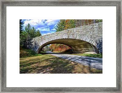Blue Ridge Bridge Framed Print by Bob Jackson