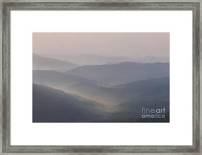 Blue Ridge Mountains Framed Print by Jonathan Welch