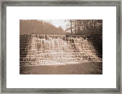 Blue Ridge Parkway Rainy Day Framed Print by Betsy C Knapp