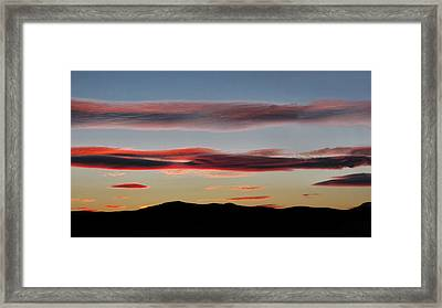 Blue Ridge Serenity Framed Print by Lara Ellis