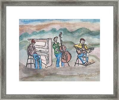 Blue Ridge Tradition   Framed Print by Elizabeth Briggs