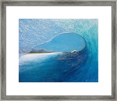 Blue Room Framed Print by Nathan Ledyard
