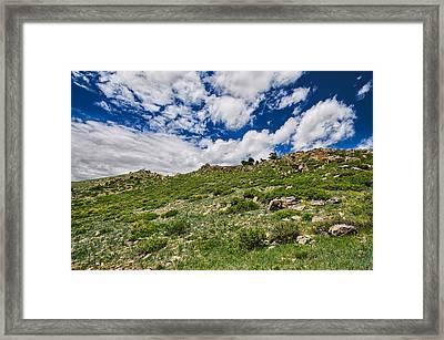 Blue Skies Framed Print by Tony Boyajian