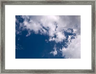 Blue Sky Framed Print by Mark McKinney