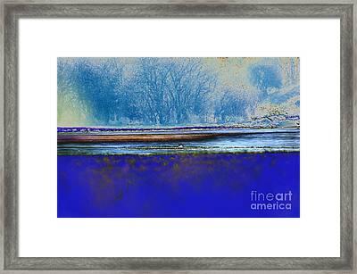 Blue Water Framed Print by Carol Lynch