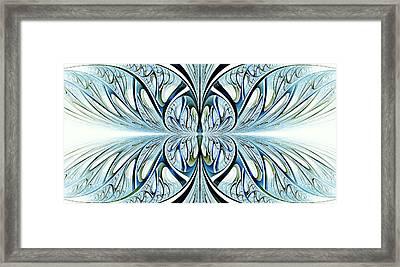 Blue Wings Framed Print by Anastasiya Malakhova