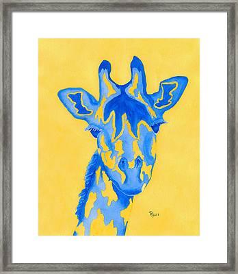 Bluebelle Framed Print by Rhonda Leonard