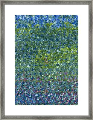 Bluebells Framed Print by Leigh Glover