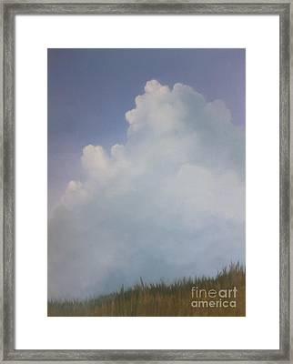 Blues Creek Framed Print by Cynthia Vaught