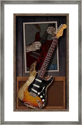 Blues Tools 2 Framed Print by WB Johnston