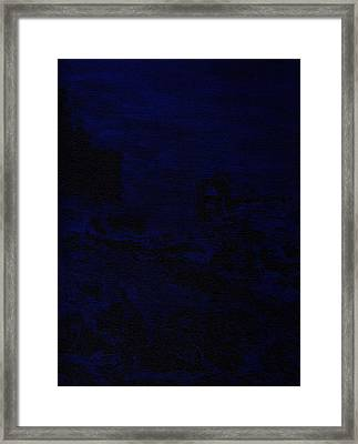 Bluescape Framed Print by Cathal Lindsay