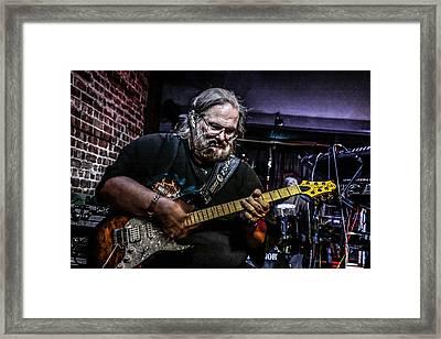 Bluesman Framed Print by Ray Congrove