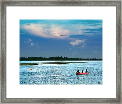 Bluewaters Framed Print by Joseph Tese