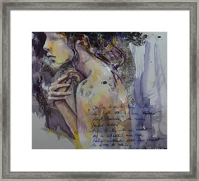 Blurred Mood Framed Print by Dorina  Costras