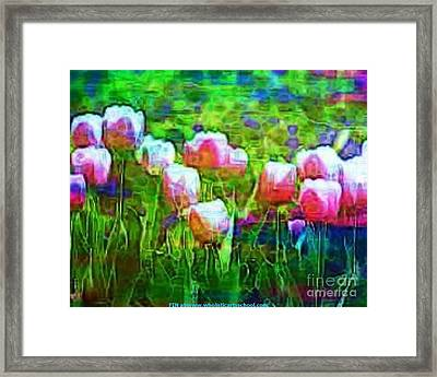 Blurry Vision Losing Mine Framed Print by PainterArtist FIN