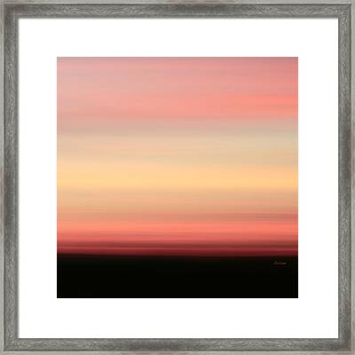 Blush Framed Print by Laura Fasulo