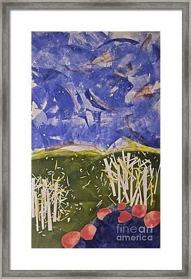Blustery Day Framed Print by Deborah Talbot - Kostisin