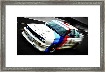 Bmw E30 M3 Racer Framed Print by Phil 'motography' Clark