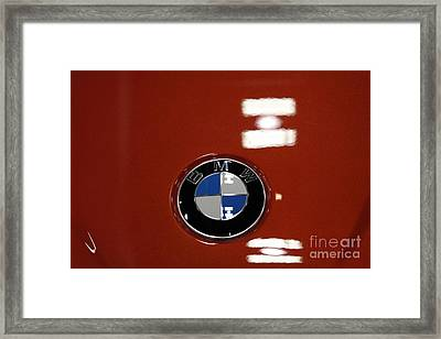 Bmw Emblem - 5d20322 Framed Print by Wingsdomain Art and Photography