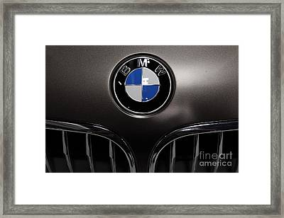 Bmw Emblem - 5d20323 Framed Print by Wingsdomain Art and Photography