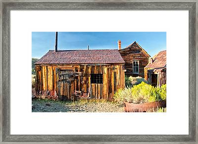 Boarded Up Framed Print by Cat Connor