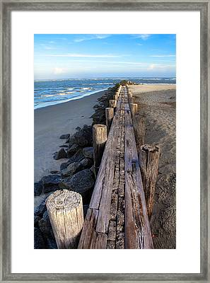 Boardwalk - Charleston Sc Framed Print by Drew Castelhano