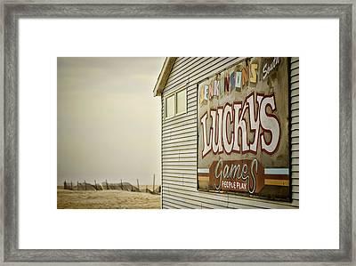 Boardwalk Empire Framed Print by Heather Applegate